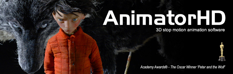 AnimatorHD - 3D stop motion animation software